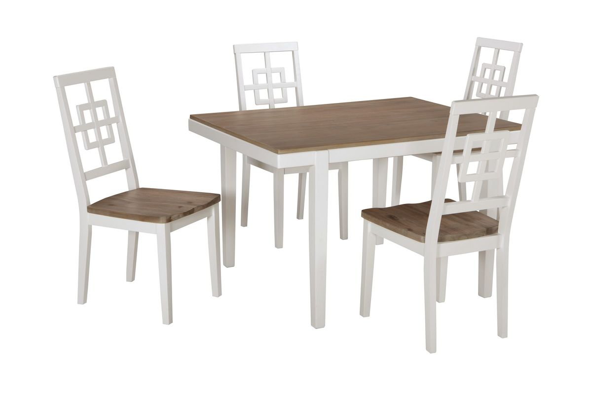Brovada Dining Table 4 Chairs By Ashley At Gardner White