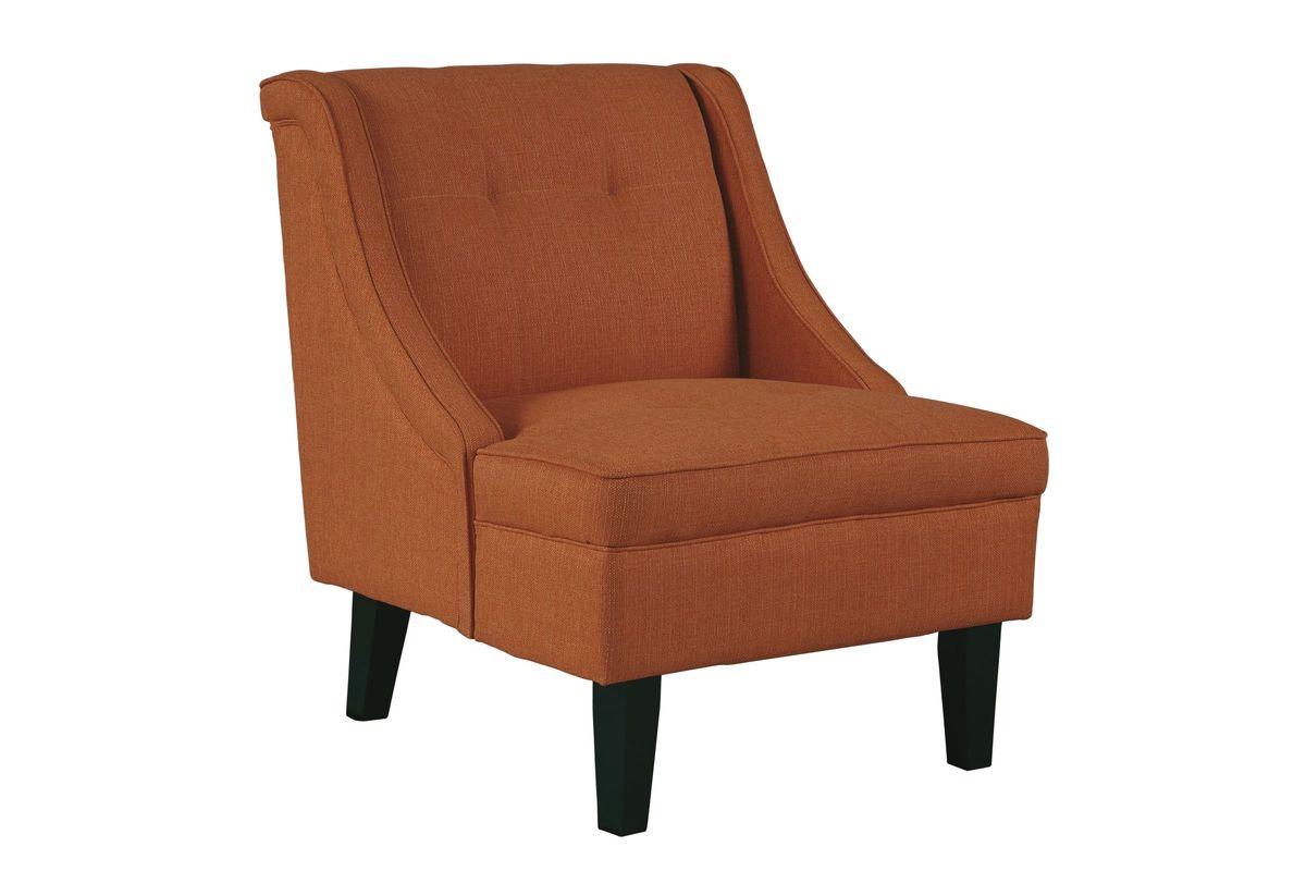 Clarinda Accent Chair In Orange By Ashley At Gardner White