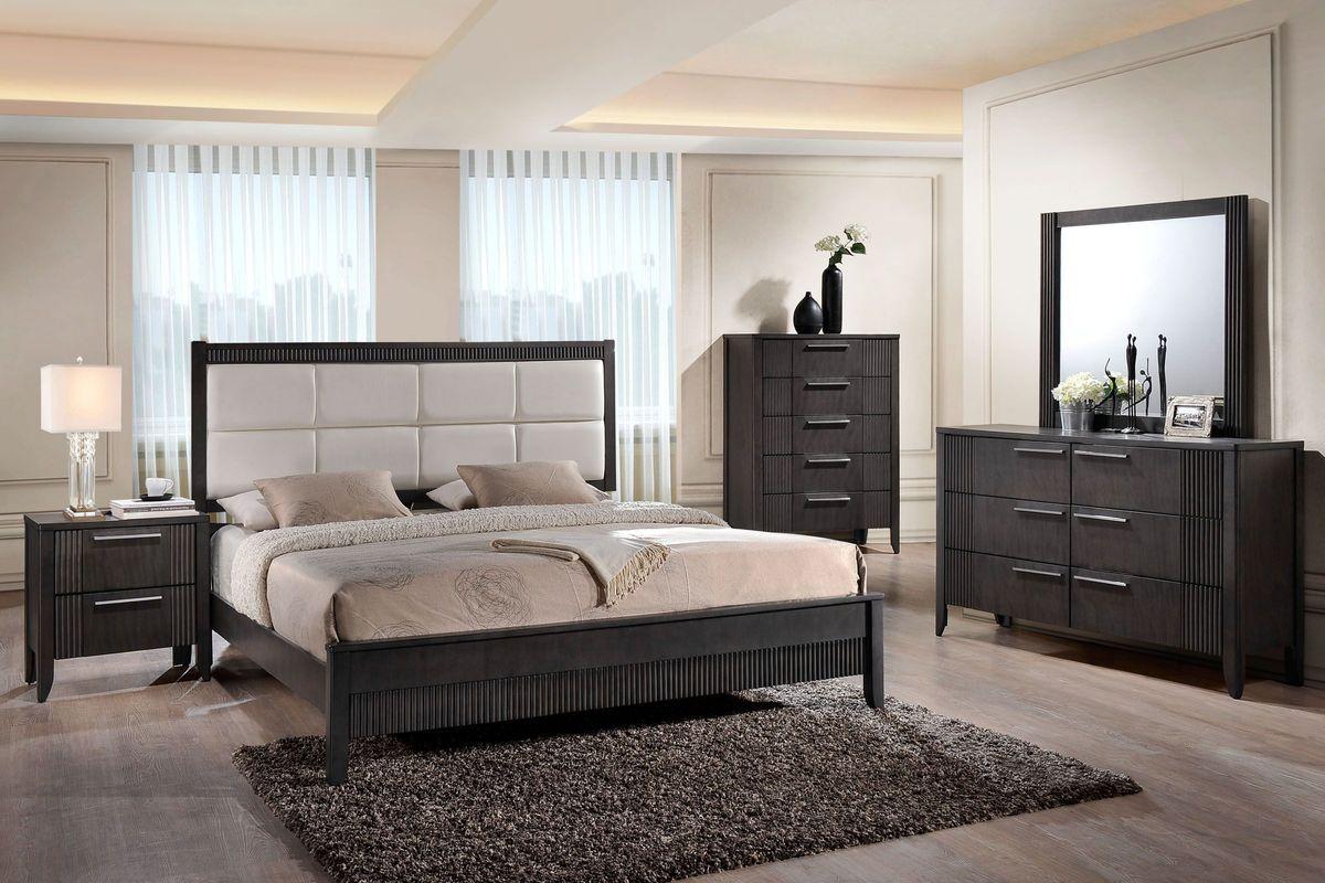 belair 5 piece king bedroom set at gardner white