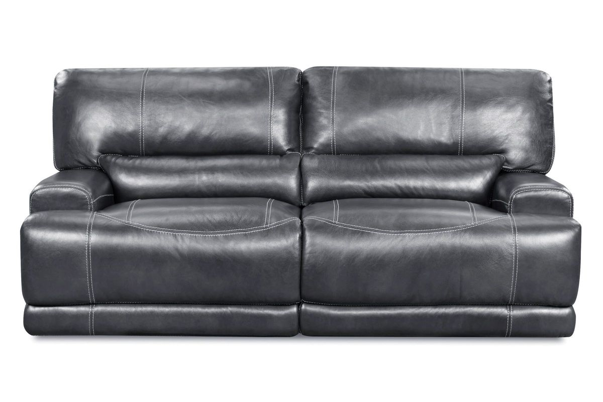 Cannon Leather Power Reclining Sofa At Gardner White
