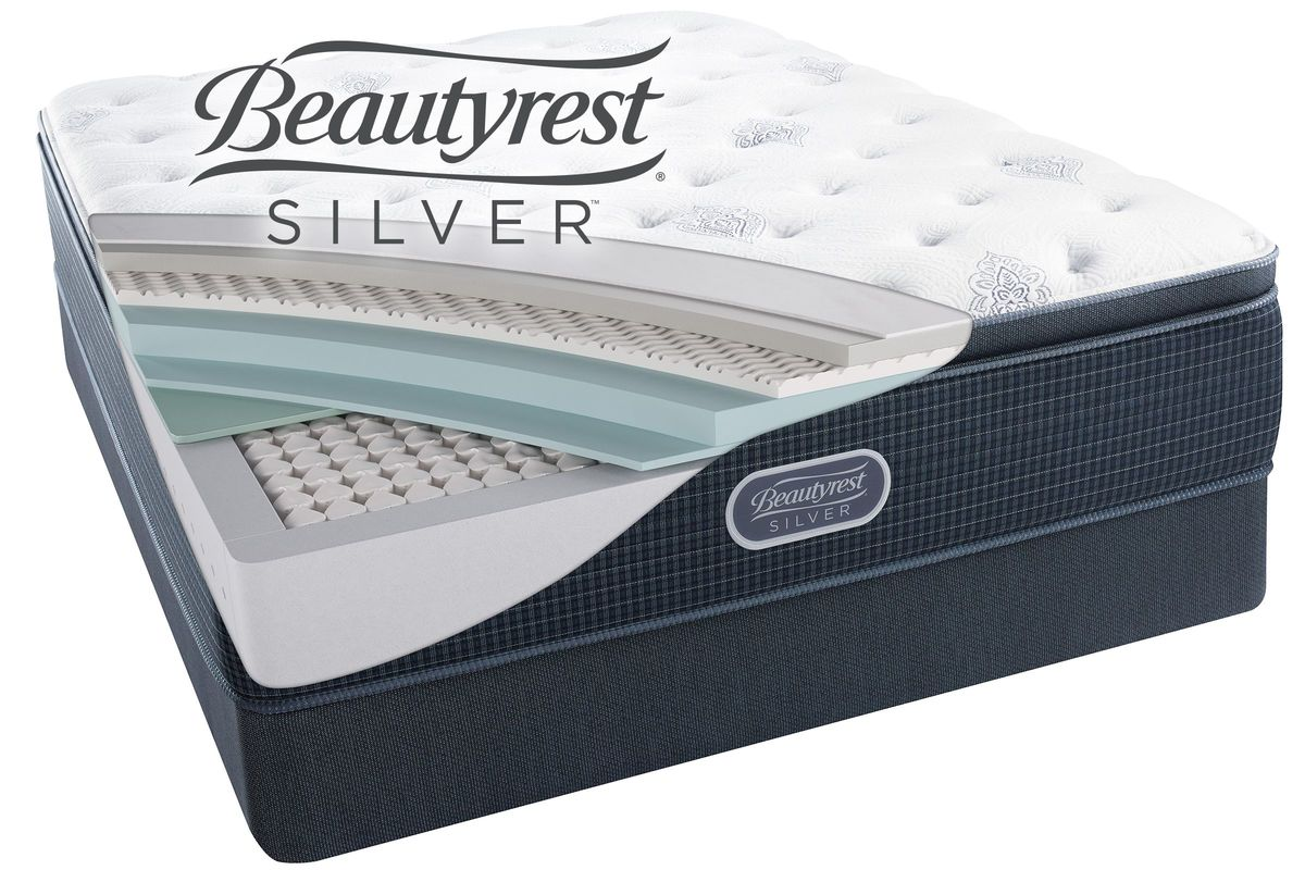 Beautyrest Silver Open Seas Plush Pillow Top Queen Mattress