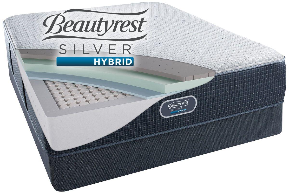 Beautyrest Silver™ Hybrid Austin Reef™ Plush Queen Mattress