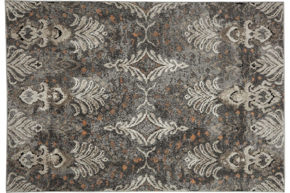Vidonia Medium Rug In Grey Taupe By Ashley At Gardner White