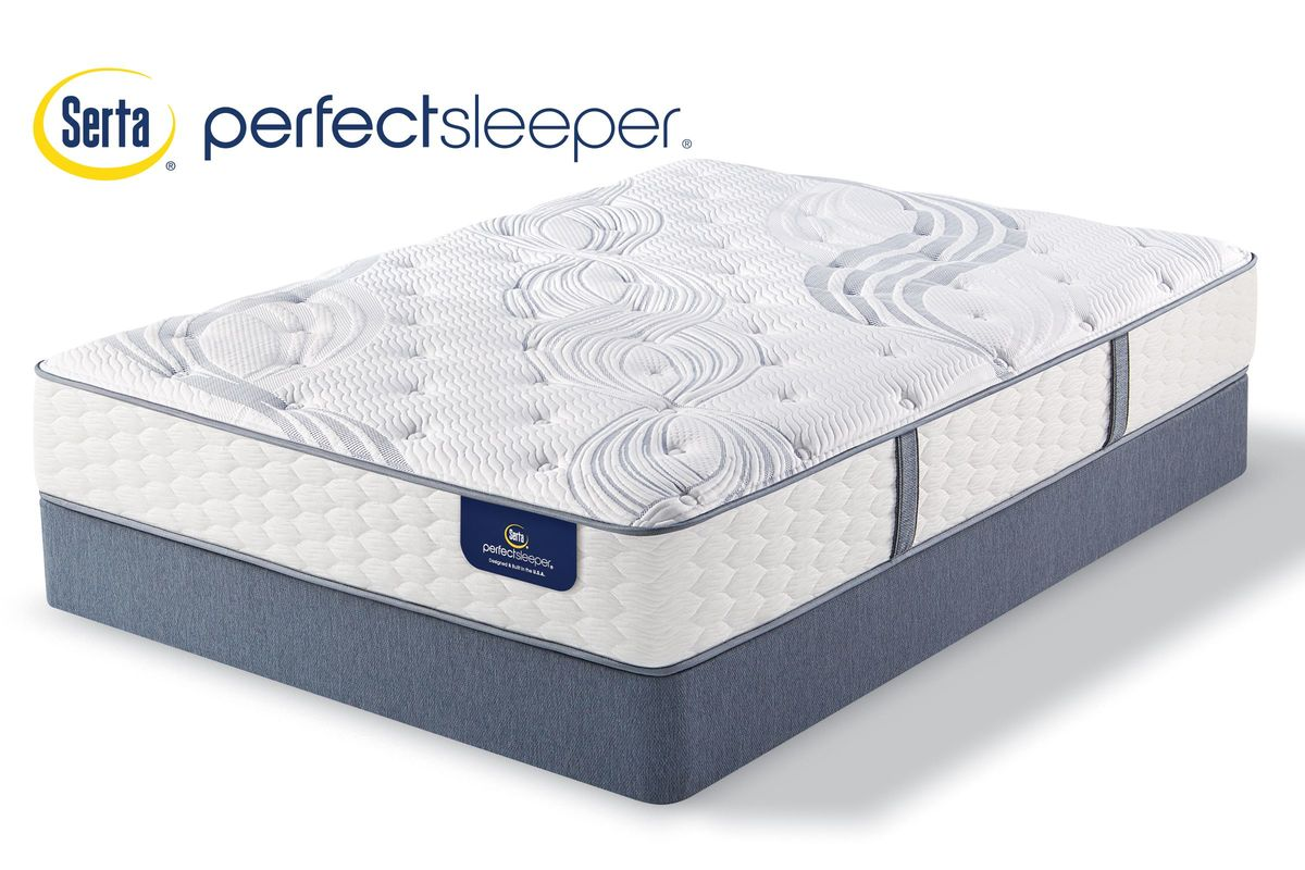 Serta Perfect Sleeper Hammond Plush Twin Mattress At