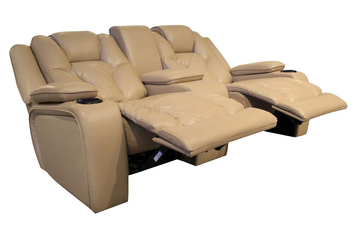 Turismo Power Reclining Loveseat With Console At Gardner White