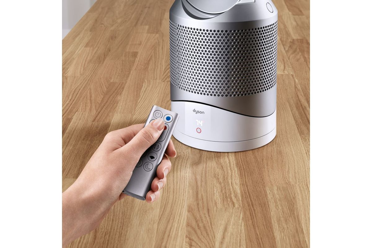 dyson pure hot cool link air purifier in white at. Black Bedroom Furniture Sets. Home Design Ideas