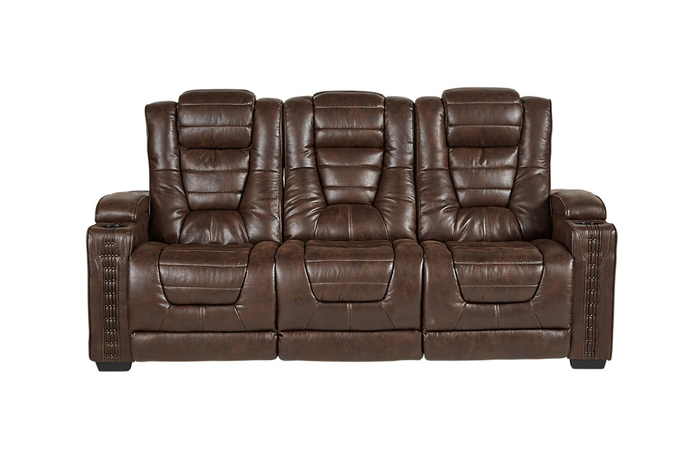 Bastille power reclining sofa with drop down table highway to home power reclining microfiber sofa with drop down table now 156999 125599 we pay your tax geotapseo Choice Image